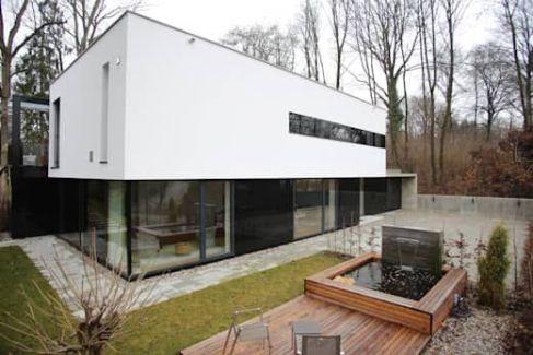 Einfamilienhaus Starnberg_ moderne Häuser von Huaber & more