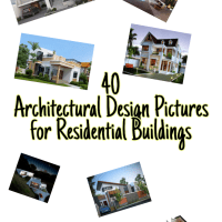 86 Architectural Design Pictures for Residential Buildings
