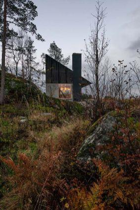 _architecture _small _cabin _concrete _house _design _modern _norway _lifestyle _nature