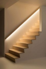 10_ Marvelous Staircase Lighting Design Ideas for Your Home _staircase _staircasedesign _staircasede