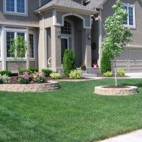 √ Easy Care Evergreen Entryway 2019 _frontyardlandscaping _landscapingideas _homeoutdoor _backyardla