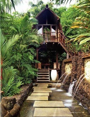 31 Cozy Bamboo Garden Decor For Private Place