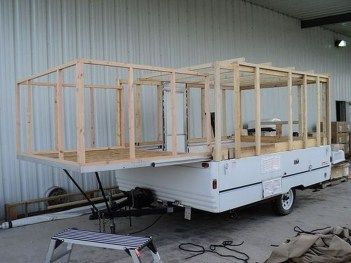 47 Cool Rv Camper Trailer Pup Tent Ideas You Must See _ Becoming an RVer doesn_t mean that you have . They are obviously an option if you want something big. However_ if you are lo...