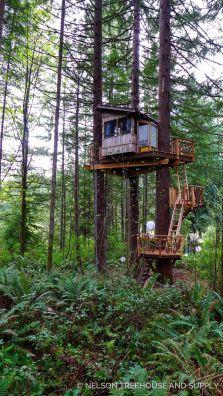 49 Enjoyable DIY Tree Houses Design For Your Kids and Family