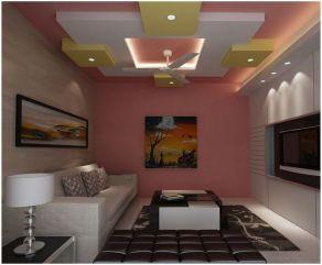 65 New False Ceilings with Cove Lighting Design for Living Room _livingroomideas _livingroomdecor