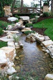 70 Beautiful Backyard Ponds and Water Garden Landscaping Ideas _ setyouroom.com