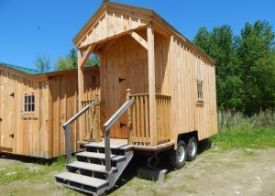 8x16 Nook _ Installed on a trailer