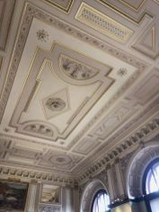 Arianne Bellizaire Interiors_ Photo of Ceilings in Kunsthistorisches Museum in Vienna_ Austria