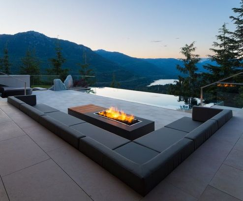Beautiful modern fire pit replacement bowl decoration ideas you should try. _firepits _outdoorfirepit _BackyardIdeas _homedecor