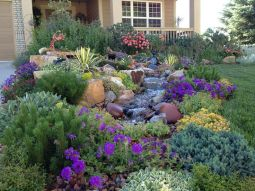 Best pictures_ images and photos about front yard landscaping ideas with perennials _homedecor _gar (15)