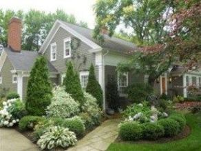 Best pictures_ images and photos about front yard landscaping ideas with perennials _homedecor _gar (16)
