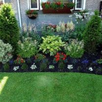Best pictures_ images and photos about front yard landscaping ideas with perennials _homedecor _gar (3)