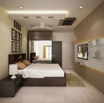 Browse images of modern Bedroom designs_ 4 bedroom apartment at SJR Watermark. Find the best photos for ideas & inspiration to create your perfect home.