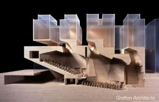 By Grafton Architects Refreshing to see a building perform in a particular manner and still look am...it_s possible.