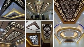 CNC False Ceiling Designs Ideas