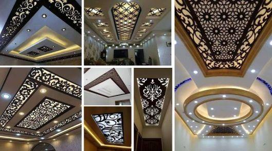 CNC False Ceiling Designs Ideas