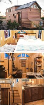 California Tiny House Designs and Builds a Rustic 28ft Home on Wheels _ Recently_ we shared with you. Pricing starts at _45_000 with plenty of options to make this tiny house your perfe