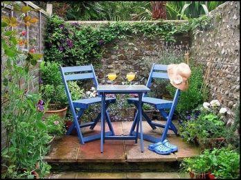 Cool 50 Inspiring Small Courtyard Garden Design Ideas for Your House.