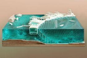 Coral Frontiers is a proposal for a new infrastructure for coral regeneration on the Island of Diego. The project stretches beyond the scale of the island. It is also a geo_political...