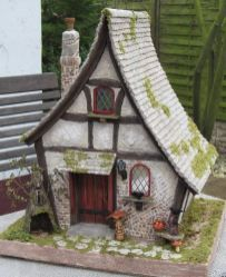 Custom order_ Castel_Garden   One of my tiny houses I have worked in order   Now it ...