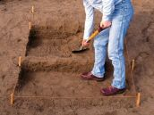 DIYNetwork.com has simple step_by_step instructions on how to build outdoor step using bricks and patio pavers.