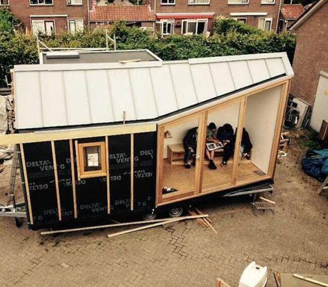 Dutch Tiny House Company Woonpioniers Takes Minimalist Design to a New Level