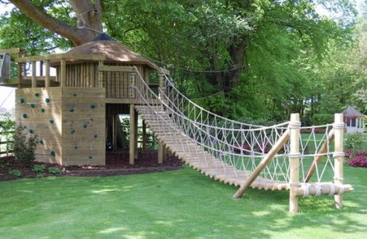 Elements To Include In A Kid_s Treehouse To Make It Awesome