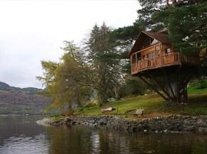 Fantásticas casas na árvore by Viverde Eco_ via Flickr
