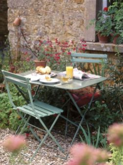 French Garden Furniture. French Garden Ideas_ Courtyard_ Vintage_ Country_ French Vintage _)