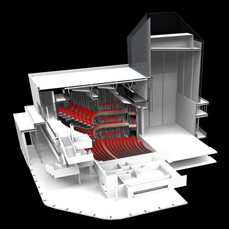 Gallery _ New Marlowe Theatre _ Keith Williams Architects _ 34