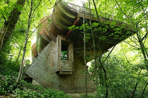 Good Millwork_ Architect Designed Tree House by Good Millwork_ via Flickr