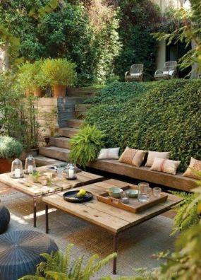Gorgeous Backyard Seating Ideas 28