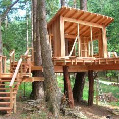 Great Tree House Ideas Trends For 2018 _ Easy to Build 2019 _treehouse _backyardideas _HomeOutdoor _