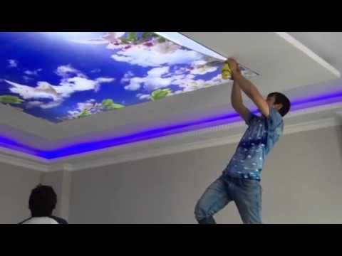 Gypsum Ceiling For Living room 2016(AS Royal Decor) _ YouTube