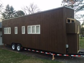Hello All_ It's Official_ We have our tiny house ready for transport_ We (with the help of Steve a