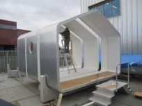 Het W_House_ ook wel Wikkelhuis genoemd is een flexibel bouwconcept_ waarbij losse onderdelen op een