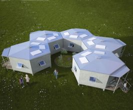 Hex House Flat Pack Shelter _ DudeIWantThat.com