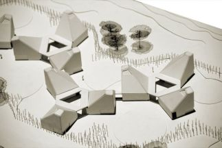 I really like the simple nature of this model of Timayui Kindergarten _ Giancarlo Mazzanti _architec