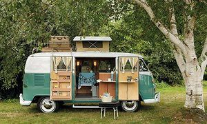 If you've ever dreamt of owning a stylish retro van_ the sexy beasts in My Cool Campervan_ a new boo