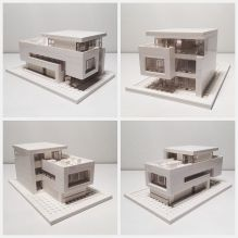 It took a bit of trial and error_ but here it is_ my first Lego Architecture Studio Model _lego _ar