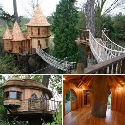 Luxury Tree House Purchased By J.K. Rowling _ POPSUGAR Moms