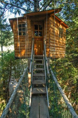 Massive tree houses in parks. _ 12 Totally Epic Things We Need To Have In Every City