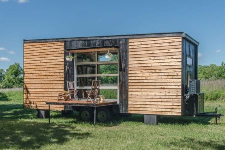 New Frontier makes tiny homes that pack a lot of luxury into little spaces.