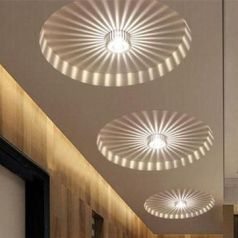NewChic _ NewChic LED 3W White_Warm White Aluminum Ceiling Light Corridor Balcony Pendant Lamp Chand.com