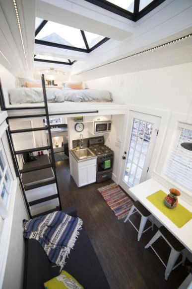 Sandy Tiny House – A 192 square feet house on wheels in Sandy_ Utah _ pinned by haw_creek.com