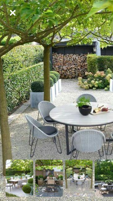 Scandinavian garden _ _garden _ronde _Scandinavian