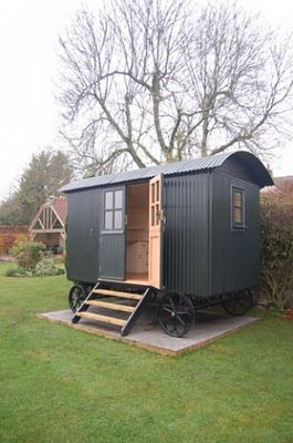 Shepherd_s hut...this makes me think only of gypsies. Love it_