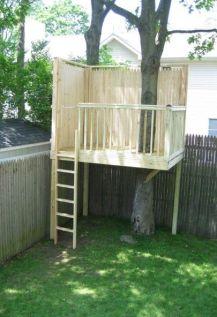 Small Tree House _treehouse _diytreehouse _frontyardideas _backyardideas _homeoutdoor