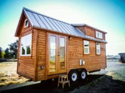 "Some of the tiny houses that we see are the pure embodiment of ""cozy"" and this is one of them_ Built. The builders say that this was the most advanced tiny house they had ever built bef"