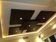 Stylish Modern Ceiling Design Ideas _ Engineering Basic (39)